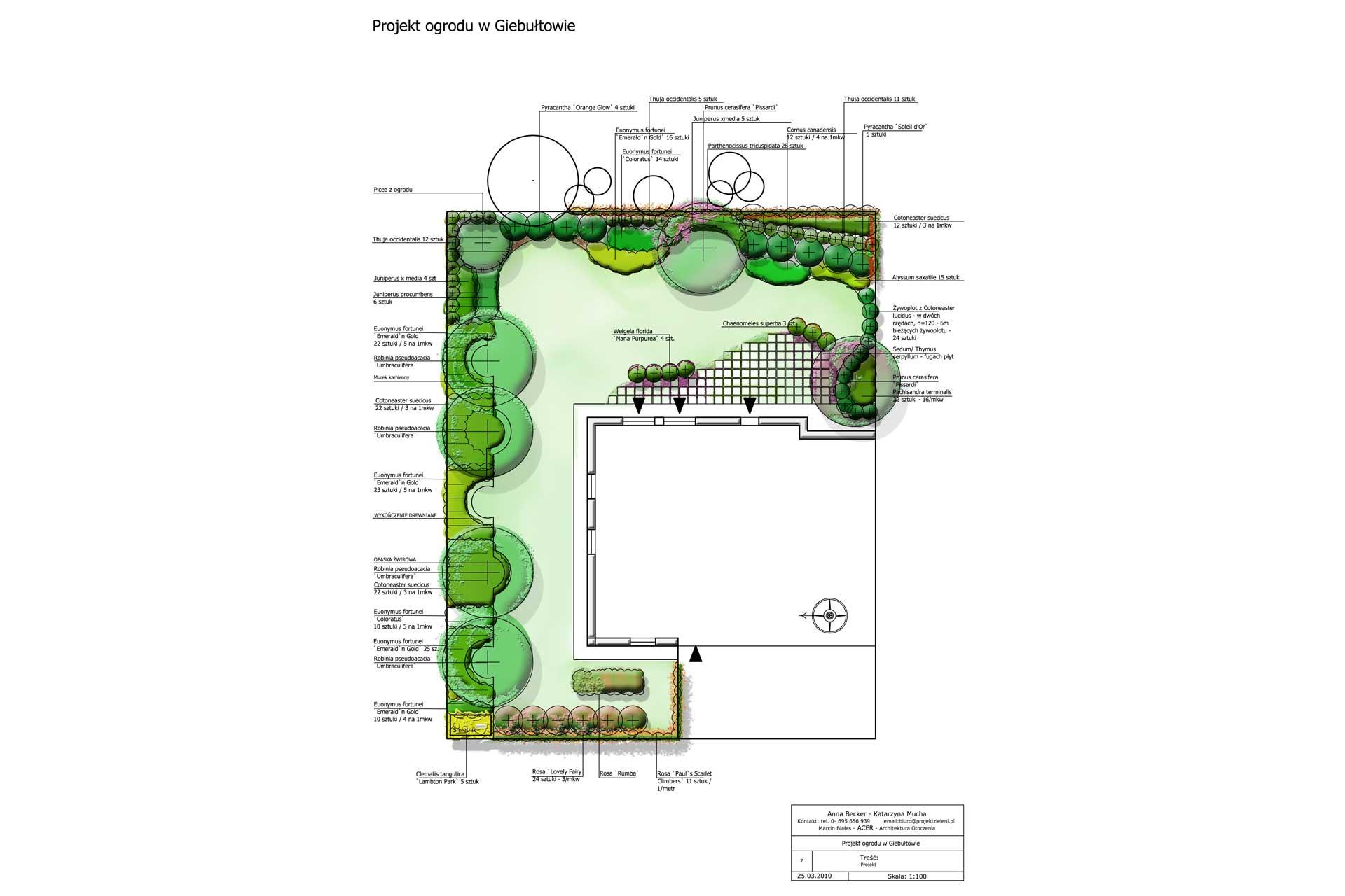 Pin Projekty Małych Ogrod 243 W On Pinterest
